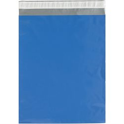 "12 x 15 1/2"" Blue Poly Mailers"