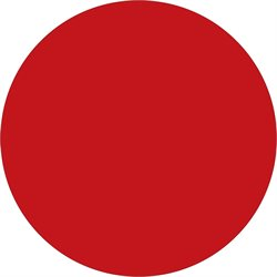 "1 1/2"" Red Inventory Circle Labels"