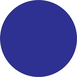 "1 1/2"" Dark Blue Inventory Circle Labels"