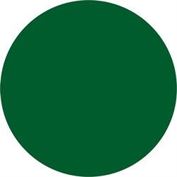 "1 1/2"" Green Inventory Circle Labels"
