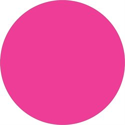 "1 1/2"" Fluorescent Pink Inventory Circle Labels"