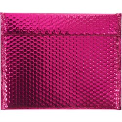 "13 3/4 x 11"" Pink Glamour Bubble Mailers"