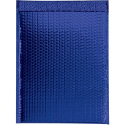 "13 x 17 1/2"" Blue Glamour Bubble Mailers"
