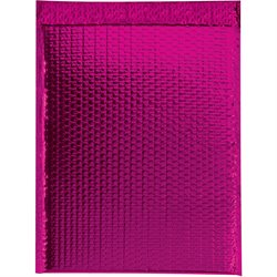 "13 x 17 1/2"" Pink Glamour Bubble Mailers"