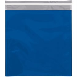 "10 3/4 x 13"" Blue Metallic Glamour Mailers"