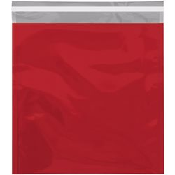 "10 3/4 x 13"" Red Metallic Glamour Mailers"