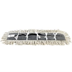 "Deluxe 24"" Pretreated Dust Mop Replacement Heads"