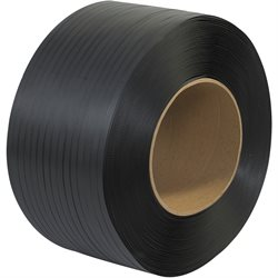 "1/2"" x 9000' - 8 x 8"" Core Machine Grade Polypropylene Strapping - Embossed"
