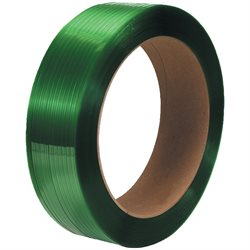 "1/2"" x 7200' - 16 x 6"" Core Polyester Strapping - Smooth"