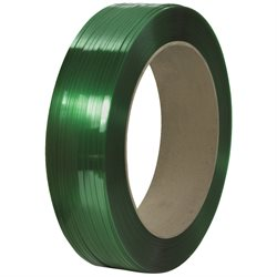 "1/2"" x 10500' - 16 x 6"" Core Signode® Comparable Polyester Strapping - Smooth"