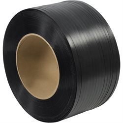 "1/2"" x 9000' - 8 x 8"" Core Hand Grade Polypropylene Strapping - Embossed"