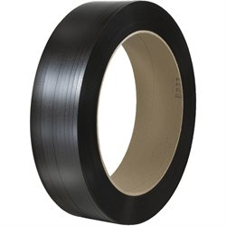 "1/2"" x 7000' - 16 x 6"" Core Hand Grade Signode® Comparable Polypropylene Strapping - Smooth"