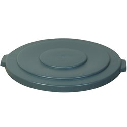 32 Gallon Brute® Container Flat Lid - Gray