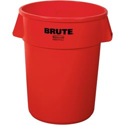 32 Gallon Brute® Container - Red