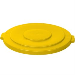 32 Gallon Brute® Container Flat Lid - Yellow