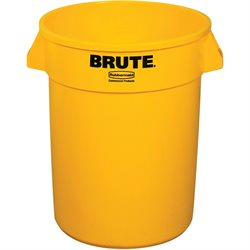 55 Gallon Brute® Container - Yellow