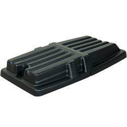 Rubbermaid® 1 Cubic Yard Domed Tilt Truck Lid