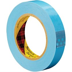 "1"" x 60 yds. (12 Pack) 3M 8896 Strapping Tape"