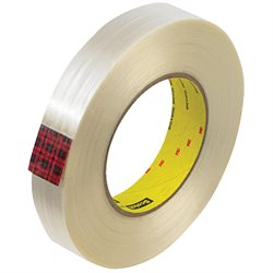 "1"" x 60 yds. (12 Pack) 3M 890MSR Strapping Tape"