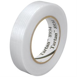 "1"" x 60 yds. (12 Pack) 3M 8934 Strapping Tape"
