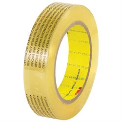 "1"" x 72 yds. 3M 665 Double Sided Film Tape"