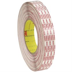 "1/2"" x 360 yds. (2 Pack) 3M 476XL Double Sided Extended Liner Tape"