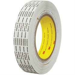 "1"" x 1000 yds. 3M 466XL Adhesive Transfer Tape Hand Rolls"