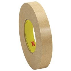 "1"" x 120 yds. (6 Pack) 3M 9498 Adhesive Transfer Tape Hand Rolls"
