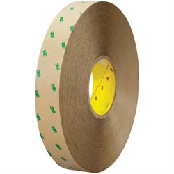 "1"" x 60 yds. (6 Pack) 3M 9505 Adhesive Transfer Tape Hand Rolls"