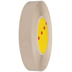 "1"" x 60 yds. (6 Pack) 3M 9627 Adhesive Transfer Tape Hand Rolls"