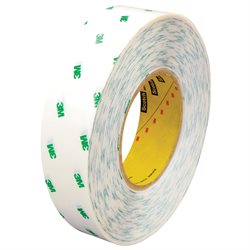 "1"" x 60 yds. (6 Pack) 3M 966 Adhesive Transfer Tape Hand Rolls"