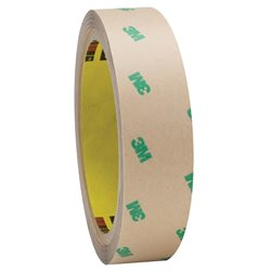 "1"" x 60 yds. (2 Pack) 3M F9465PC Adhesive Transfer Tape Hand Rolls"