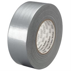 "1"" x 60 yds. Silver 3M 3939 Duct Tape"