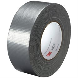 "2"" x 50 yds. Silver 3M 2929 Duct Tape"