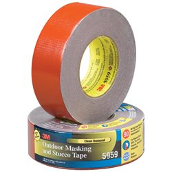 "2"" x 45 yds. Red 3M 5959 Duct Tape"