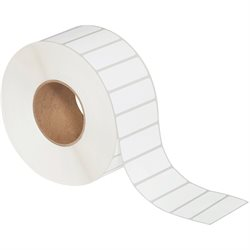 "3 x 1"" White Thermal Transfer Labels"