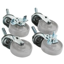 Caster Set (4) for Roll Storage System